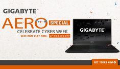 Save Now on a Gigabyte Aero Laptop Notebook Laptop, Affiliate Marketing, Need To Know, Technology, Electronics, Promotion, Fresh, Tech, Tecnologia