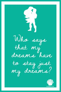 the mermaid  Printable disney quotes www.ladybph.com