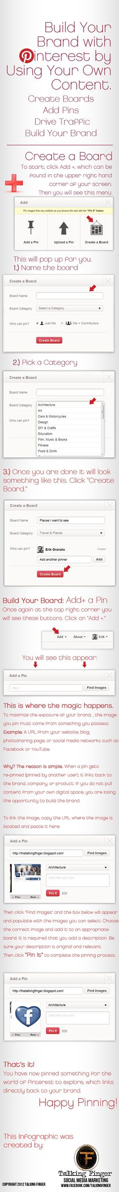 Pinterest: Build your own Brand or Project