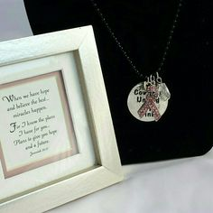 """Cowgirls United by PINK Dog Tag Necklace Black PLEASE DO NOT PURCHASE THIS LISTING.  Individual listings ready for purchase are found in the Multiples Listings section.   Cowgirls United by Pink Dog Tag Necklace with Pink Rhinestone Ribbon and Crystal charm hanging on a Black 18"""" ball chainwith 2"""" extender  Pendant Measures 1.5x1.5""""  Lead and nickel compliant Cowgirls United by PINK Jewelry Necklaces"""