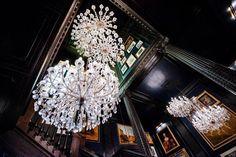 Palazzo, Hotel Hallway, Stairways, Chandelier, Ceiling Lights, Lighting, Hallways, Home Decor, Lady