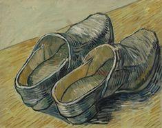 A pair of leather clogs | Vincent Van Gogh