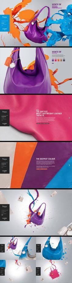 Napa bags - #web #design