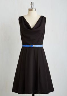 Computer Tutor Dress in Black