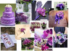 Purple Please! : PANTONE WEDDING Styleboard : The Dessy Group