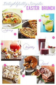 Easter brunch menu brunch menu and easter brunch on pinterest for Easy easter lunch menu