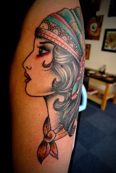 jason corbett gypsy tattoo with really perfect features