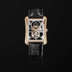 16282b91d675 Pink gold Skeleton tourbillon Watch - Piaget Luxury Watch G0A29109  Tourbillon Watch