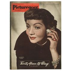 claudette colbert movie magazine covers   feb 3 1951 claudette colbert picturegoer feb 3 1951 claudette colbert ...