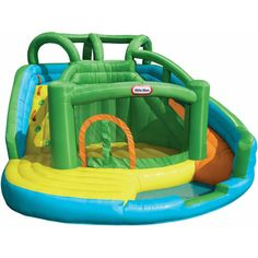 Compare prices on Little Tikes Wet N Dry Bouncer Water Slides from top online watersport equipment retailers. Save money on inflatable water slides and accessories. Inflatable Water Park, Inflatable Bounce House, Inflatable Bouncers, Backyard Water Parks, Backyard For Kids, Backyard Ideas, Backyard Toys, Outdoor Ideas, Backyard Landscaping