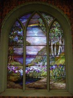 Tiffany Rainbow Window Westminster Presbyterian Church, Auburn, NY