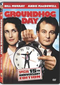 Groundhog Day - do you feel trapped in your life, same thing day after day? Clever and hilarious