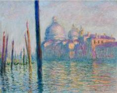 The Grand Canal in Venice - Claude Monet, 1908