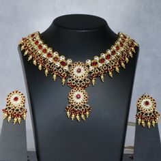 Gorgeous Red Bridal Necklace Collection