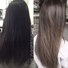 Image result for can you go black to ash brown in one session