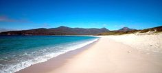 The world's best hidden beaches: Wineglass Bay in Tasmania by britsinvade