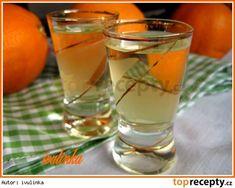 Pomerančový likér ze slivovice Destiel, Shot Glass, Smoothie, Food And Drink, Drinks, Tableware, Syrup, Drinking, Beverages