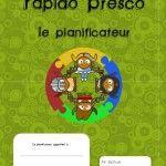 Guide planificateur préscolaire, cahier de planification gratuit, maternelle