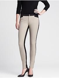 Sloan-Fit Colorblock Skinny Ankle Pant