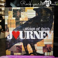 """""""Journey on Wings of Faith"""" Canvas by Ms. Ruin's Playthings"""