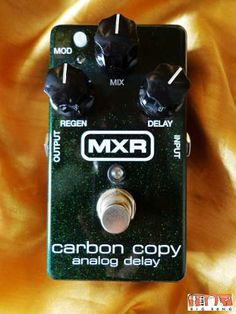 Pedal Mxr Carbon Copy Delay