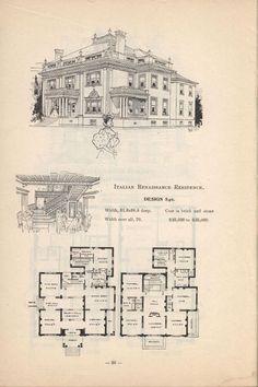 Artistic city houses, no. 43 design 840: