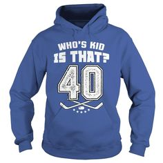 whos kid is that 40, Order HERE ==> https://www.sunfrog.com/Sports/whos-kid-is-that-40-Hoodie-Royal-Blue.html?id=41088 #hockeylovers #hockeymom #hockeyplayer