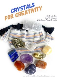 Crystals For Creativity & Motivation | CrystalHealingForWomen Clear Quartz Crystal, Crystal Healing, Higher State Of Consciousness, Opposite Colors, Feeling Trapped, Crystals For Sale, New Energy, Stress And Anxiety, Positive Thoughts