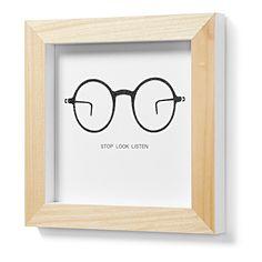 Cuadro Arc, gafas