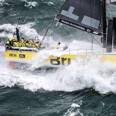 Team Brunel at zur Volvo Ocean Race 2017