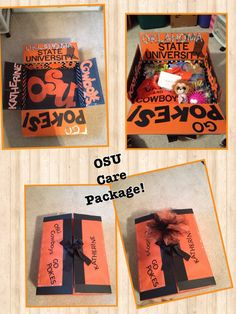 Care Package for a college student.