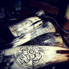 slovan icelandic rune and thorshammer