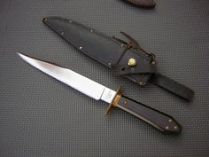 Bagwell Ontario Gambler Bowie  knife No Reserve !