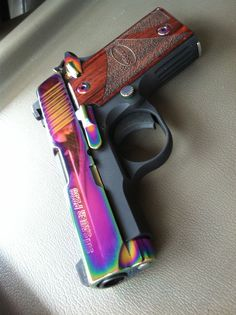 Rainbow Sig Sauer..... Want this so bad