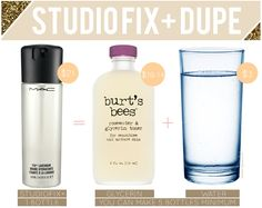 How to: Make MAC's Studio Fix Spray