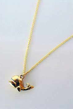 Whale necklace -- the jaws open and close!