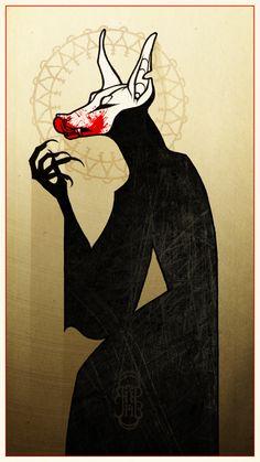 Saint by CanisAlbus on DeviantArt Neko, Art Folder, Art Prompts, Sad Art, Wolf, Creepy Art, Creature Design, Furry Art, Mythical Creatures