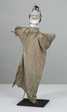 Paul Klee (Swiss-German 1879-1940), Untitled hand puppet (The Absolute Fool), 45 cm, 1925. Collection Zentrum Paul Klee, Bern.