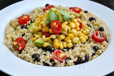 mexican black bean quinoa salad,mexican,starter,appetizer,meal,wholemeal,protein packed,complex carb,healthy,quinoa,beans,black beans