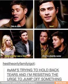 .Sam :'( i'm so done!
