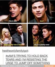 Supernatural - Dean & Sam meet their parents - Jensen Ackles, Jared Padalecki, Matt Cohen