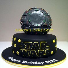 Death Star / Star Wars Birthday Cake — Birthday Cake Photos