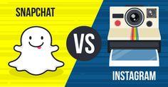 Snapchat e Instagram quem sera o rei do aplicativo de compartilhamento de fotos #baixar , #download_snapchat , #snapchat_download : http://snapchatfree.com/