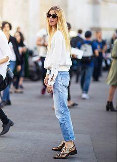 11 Stylish Ways to Wear Flats This Season via @WhoWhatWear