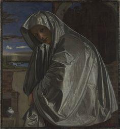 Mary Magdalene by Giovanni Girolamo Savoldo, oil on canvas