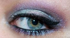 Urban Decay Vice 2 Palette Makeup Look: Silver/Violet