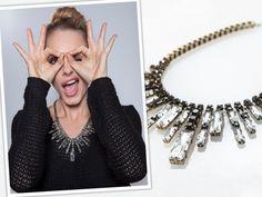 Crystal Bib Necklace by Adia Kibur from Monet Mazur on OpenSky