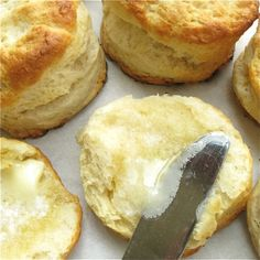 Homemade biscuits to freeze