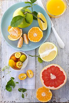 florida citrus    limes from a friend's tree and other Florida citrus... Cannelle Et Vanille