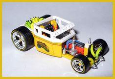 Bone Shaker, Custom Hot Wheels, Unique Cars, Diecast Models, Sale Items, Toys, Building, Scale, Dragon